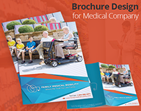Brochure Design for Medical Company by Swan Media