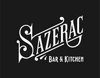 Sazerac Bar | Lettering, Signage & Gilding