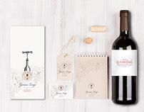 Progetto linea etichette Azienda Agricola Zanini Luigi