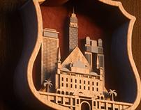 Egyptian cities emblems