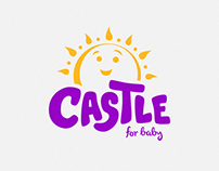 Castle for Baby Logo Redesign