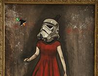 Star Wars Duck Hunt girl