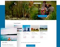 Somos Ninja Crowfunding Website