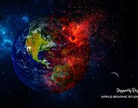 Exploding Earth - Photoshop Manipulation