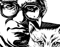 Carlos Monsiváis Portrait