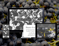 Landing page & Branding | Wine consulting