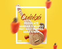 Cards - Aniversário de Cuiabá