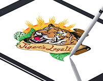 Tiger's Loyalty   iPad Pro Artwork