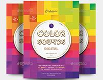 Color Sounds Flyer
