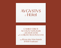 Augustus Hotel Branding