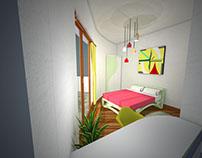 Interior design- Str. Jean Monnet