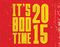 IT'S BOO TIME 2015