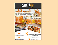 Cartaz | Saisho Culinária Oriental