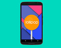 Lollipop Material Design Android 5.0 Houzz (Decor) app