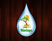 Logo Design for Liquid Gold Moringa