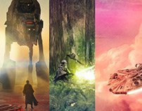 Star Wars lithographs