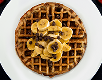 Food Photography: Waffles