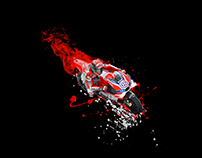 """Ducati flaming passion"" FB post"