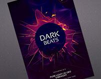 Dark Beats Flyer Template