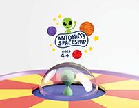 Antonio's Spaceship Learning Toy
