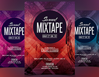 Sound Mixtape - Free PSD Flyer Template
