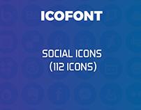IcoFont Social Icons (FREE)