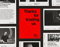 Thanks for trusting us | TEDx Wellington