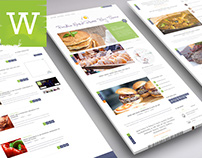 WordPress Blog Theme with Recipes And As A Food Blog