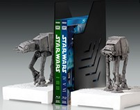At-At Walker Bookends