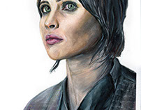 Jyn Erso drawing