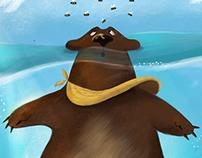 The greedy bear