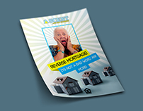 Reverse Mortgage Poster and Flyer