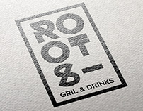 Roots / Grill & drinks Restaurant-bar Branding