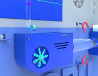 Creativity Needs Power - 3D animation