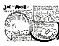 Joe the Monk - Comic Strip Series