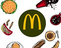 McDonalds animation