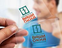 Логотип и фирменный стиль Ваши Окна