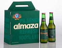 Almaza beer package