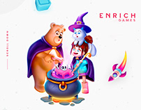 Enrich Games Digital Designs