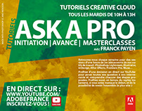 Ask A Pro | Adobe France YouTube channel