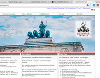 Quadriga Consult: Relaunch WebSite