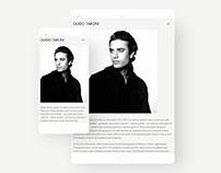 Guido Taroni Website