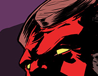 Hellboy - fan art