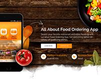 Food Ordering App Web Page