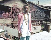 Fetty Wap Complex Magazine Cover Mockup