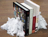 Remaining Snow Bookend
