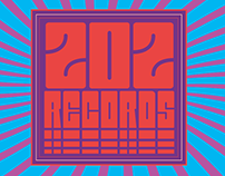 202 Records: Fictional Logo Project