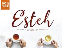 Esteh Script - 100% Free Font