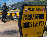 Paro Birds Eye View