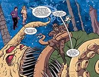 """""""Herald: Lovecraft & Tesla"""" #6 comic preview pages"""